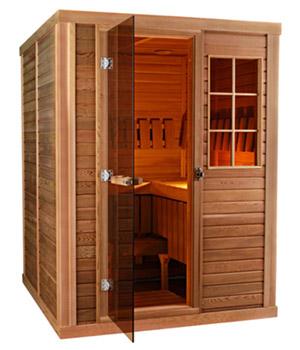 Gold coast saunas for Do it yourself sauna kit
